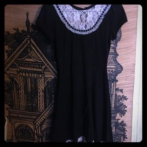 Midnight hour hot topic goth lace babydoll dress